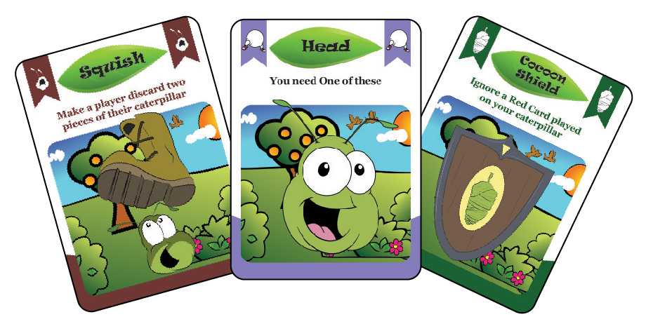 Kickin Your Caterpillar Cards