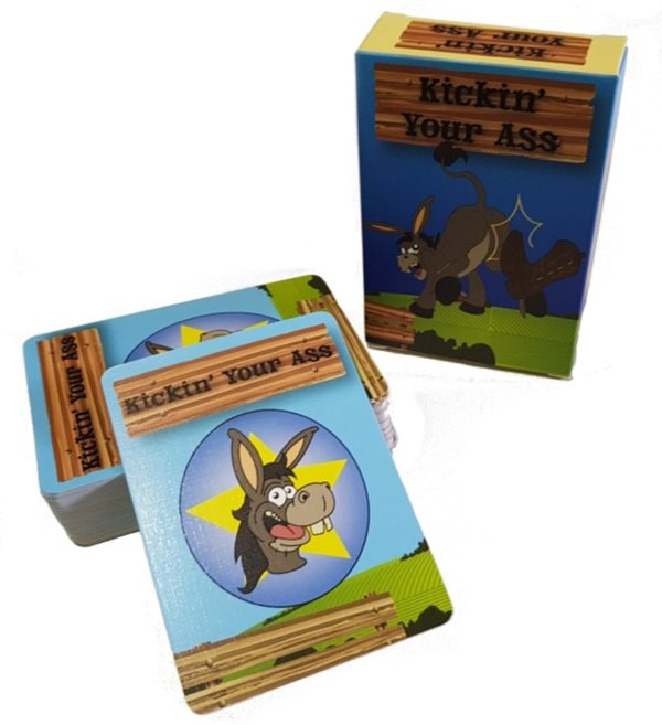 Kickin Your Ass Card Game