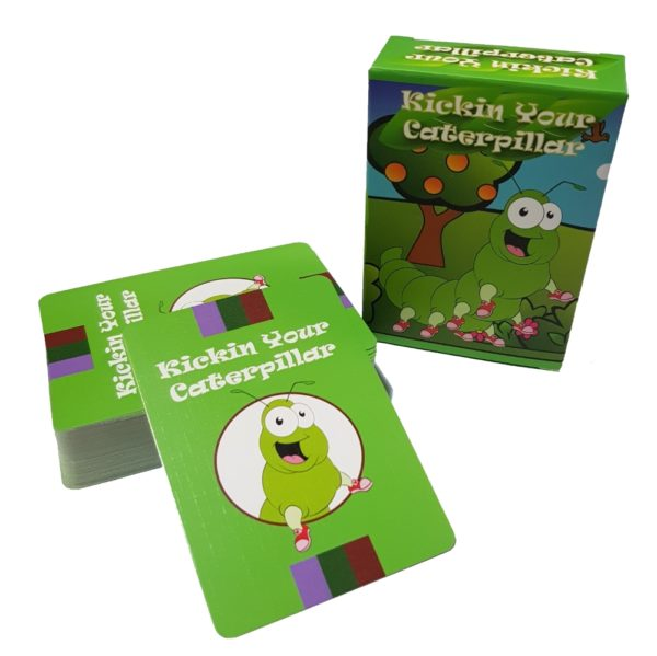 Kickin Your Caterpillar Card Game