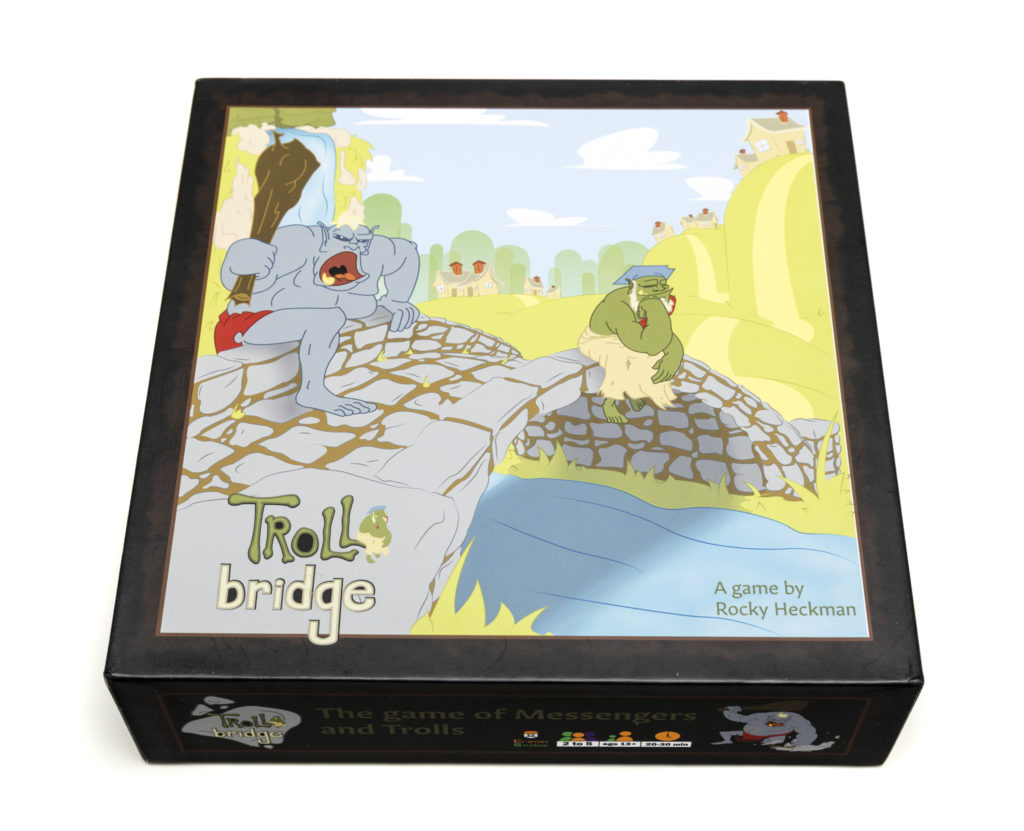 Troll Bridge Family Board Game