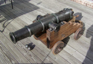 1700's Ship Cannon