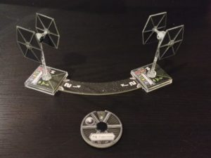 Star Wars X-Wing Miniatures Game Movement