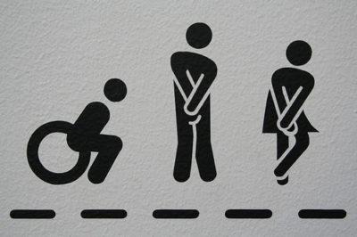 Urgent Toilet Icons
