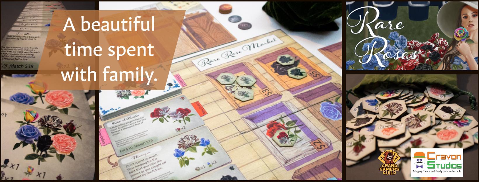 Rare Roses board Game