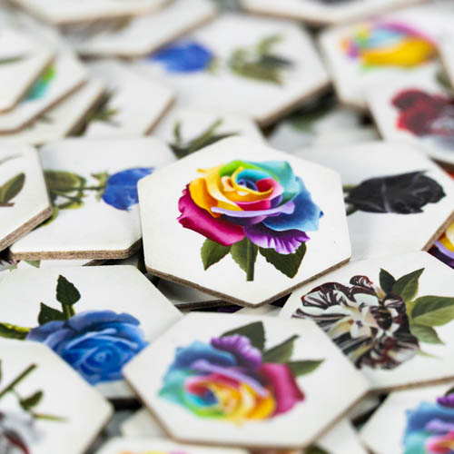 Rare Roses Rose Tiles