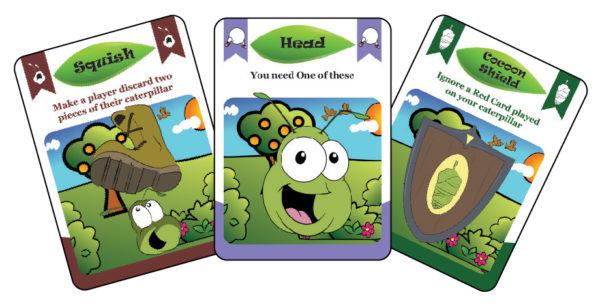 Kickin Your Caterpillar Cards