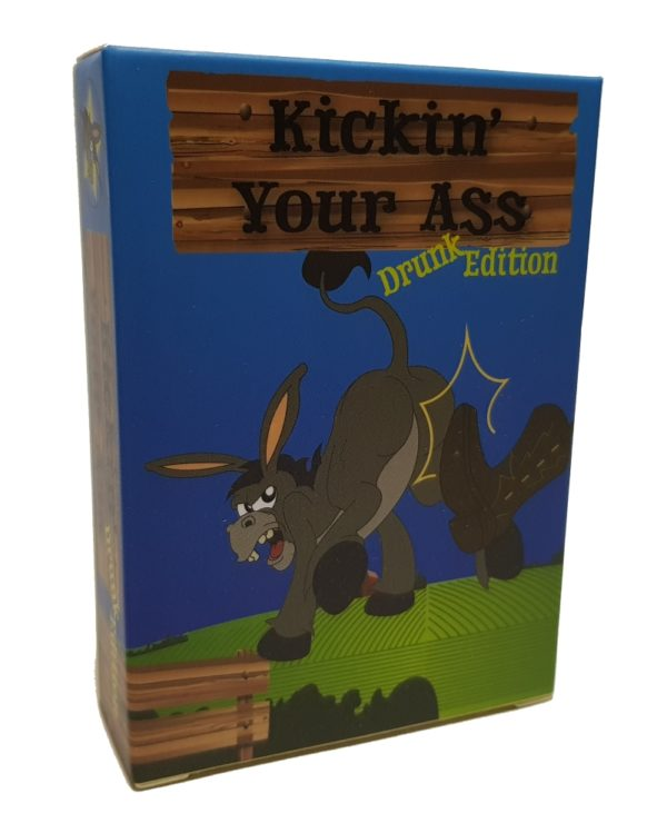 box shot of kickin your ass drunk edition