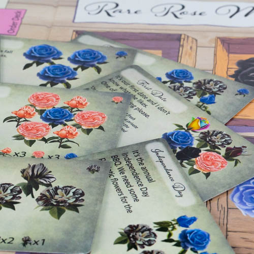 Rare Roses Order Cards